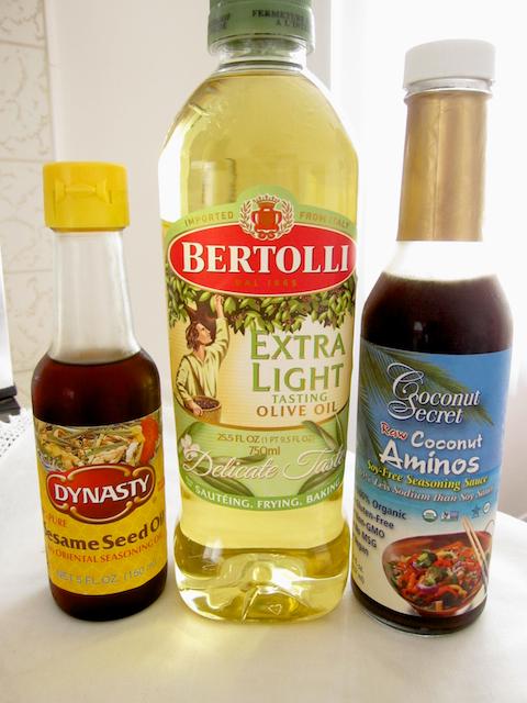 sesame oil and coconut secret