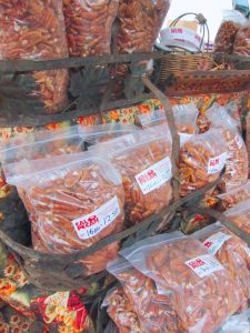 pecans at the farmers market