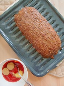 cooked Classic Glazed Meatloaf