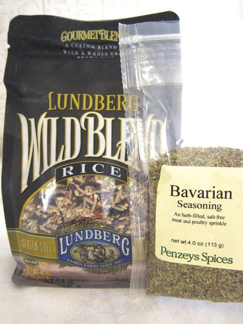 Lundberg Wild Rice and Bavarian Seasoning