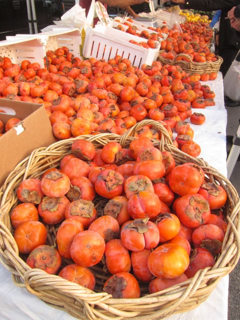 persimmon and pomegranite s