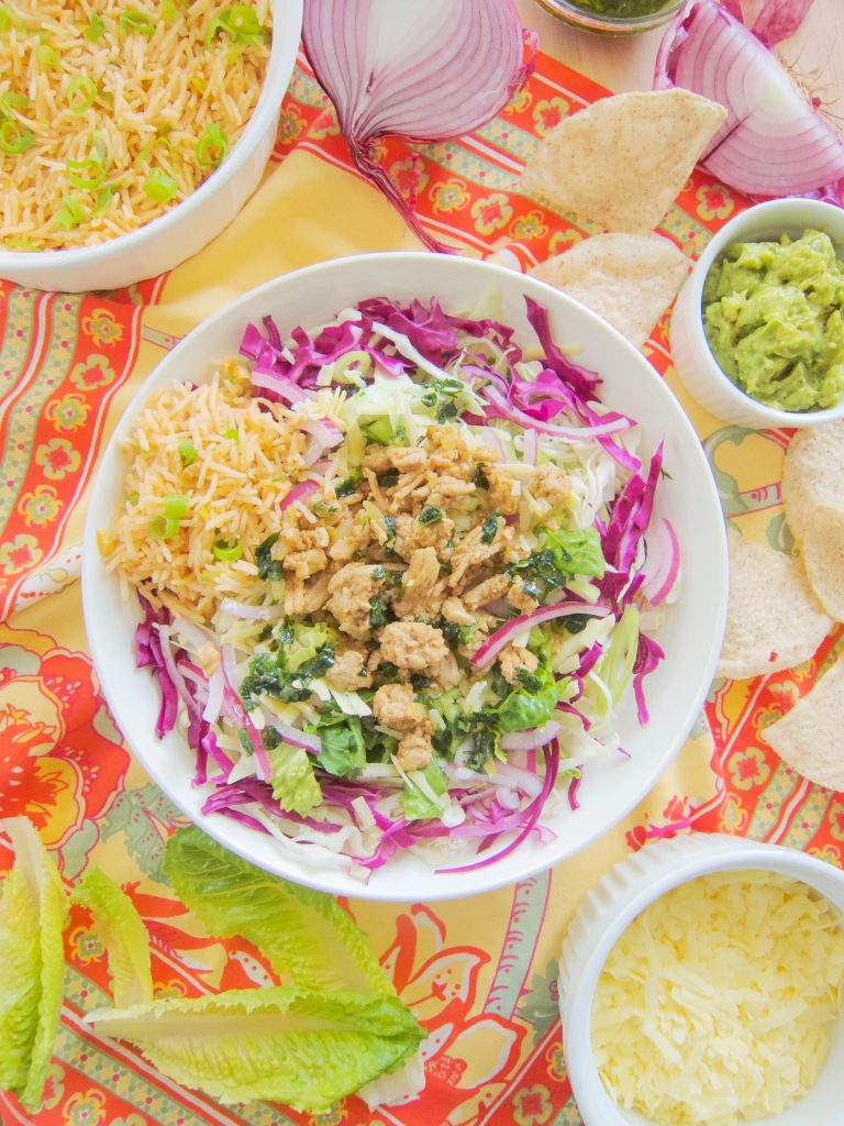 Taco Salad With Cilantro Dressing
